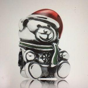 Pandora Christmas Bear Charm - 791391